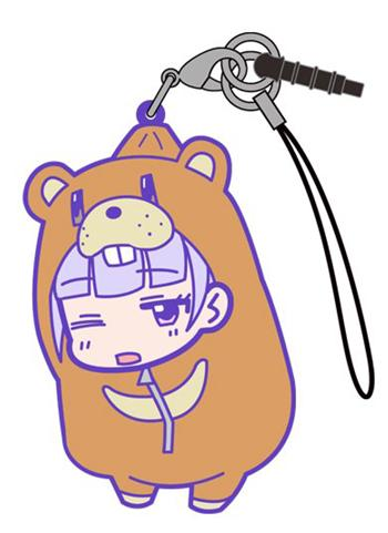 New Game!! - Aoba Suzukaze Bear Sleeping Bag Ver. - Tsumamare Cospa Pinch Rubber Strap