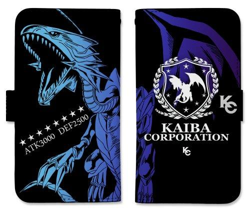 Yu-Gi-Oh! Duel Monsters Blue Eyes White Dragon Book Type Character Smart Phone Pouch for iPhone