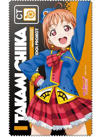 Love Live! Sunshine!! - Chika Happy Party Train Ver. - Cospa Microfiber Glasses Cleaner Cloth