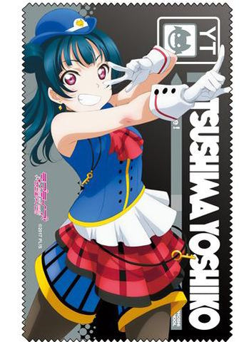 Love Live! Sunshine!! - Yoshiko Happy Party Train Ver. - Cospa Microfiber Glasses Cleaner Cloth
