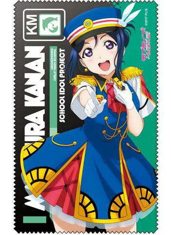 Love Live! Sunshine!! - Kanan Happy Party Train Ver. - Cospa Microfiber Glasses Cleaner Cloth