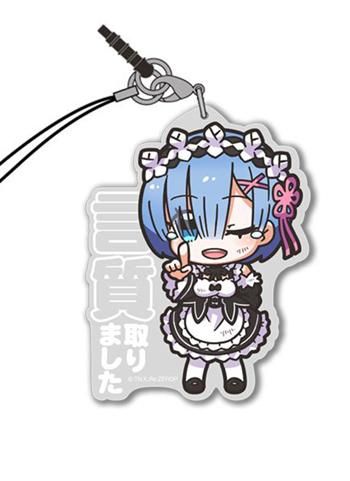 Re: Zero REM Make Somebody Promise Cospa Acrylic Mascot Strap