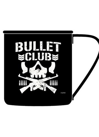 New Japan Pro-wrestling Bullet Club - Metal Tin Mug Cup Cospa