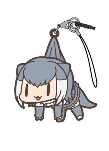 Kemono Friends Small-clawed Otter - Tsumamare Cospa Pinch Rubber Strap