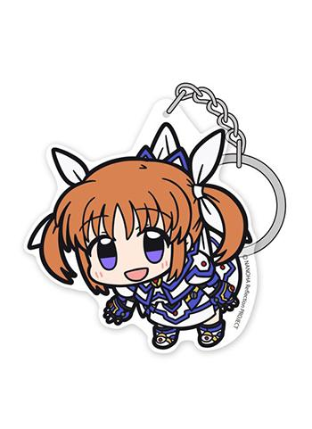 Magical Girl Lyrical Nanoha Reflection - Tsumamare Cospa Pinch Acrylic Key Chain