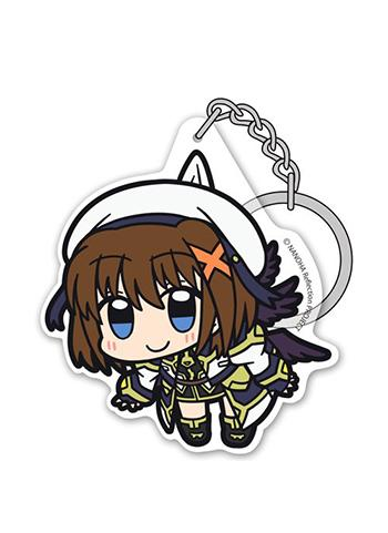 Magical Girl Lyrical Nanoha Reflection Hayate Yagami - Tsumamare Cospa Pinch Acrylic Key Chain