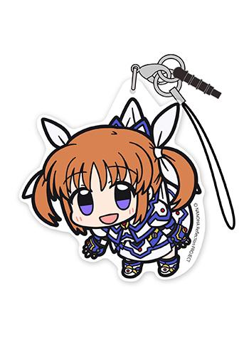 Magical Girl Lyrical Nanoha Reflection - Tsumamare Cospa Pinch Acrylic Strap