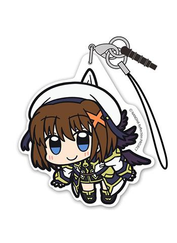 Magical Girl Lyrical Nanoha Reflection Hayate Yagami - Tsumamare Cospa Pinch Acrylic Strap