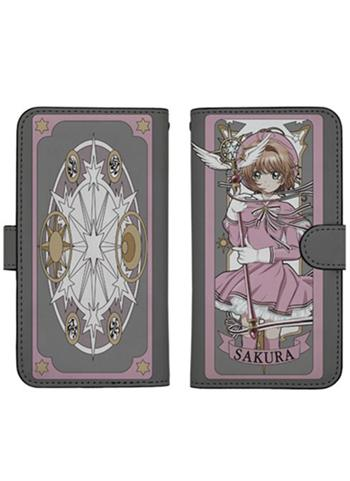 Cardcaptor Sakura: Clear Card Book Type Character Smart Phone Pouch for iPhone