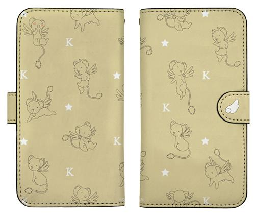 Cardcaptor Sakura: Clear Card Kero-chan Keroberos Book Type Character Smart Phone Pouch for iPhone