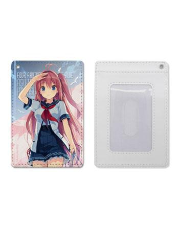 Aokana: Four Rhythm Across the Blue - Asuka - COSPA Full Color Retractable Pass Case