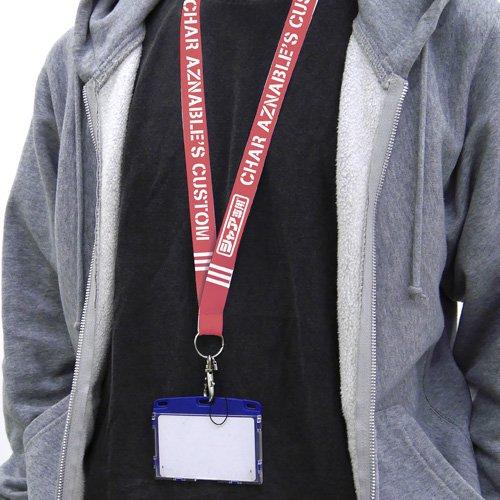 Mobile Suit Gundam Char`s Custom - Cospa Character Neck Strap Lanyard