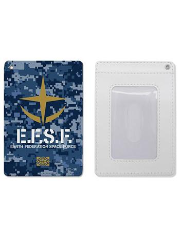 Mobile Suit Gundam E.F.S.F.  COSPA Full Color Retractable Pass Case