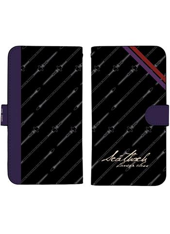 Fate/Extella Lancer Scathach Book Type Character Smart Phone Pouch for iPhone 158
