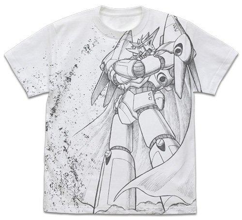 Aim for the Top Gunbuster - Cospa Character White T-shirt