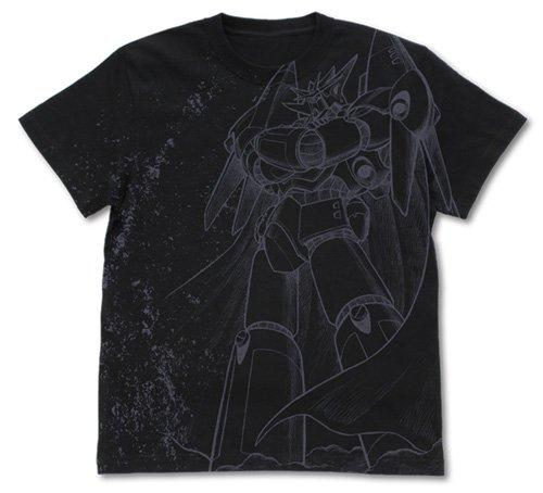 Aim for the Top Gunbuster - Cospa Character Black T-shirt