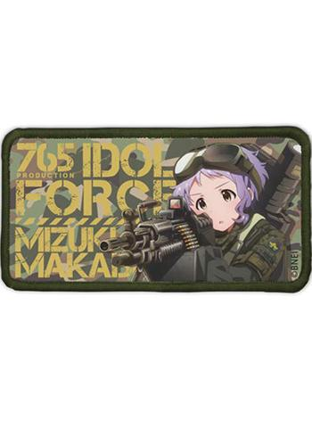 Idolmaster Million Live!  Suppressive Fire Mizuki Manabe - Cospa Removable Velcro Patch Wappen