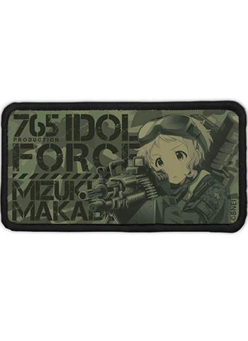 Idolmaster Million Live! Suppressive Fire Mizuki Manabe - Cospa Velcro Patch Low Visibility