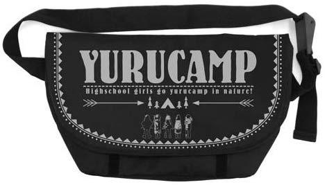 Yuru Camp - Character Cospa Sling Messenger Bag Black