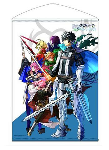 Fate/Extella Link Visual - Character B2 Wall Scroll Tapestry Cospa