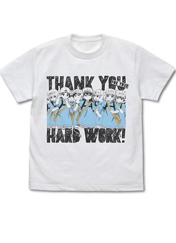 Cells at Work! Platelet`s Thank You Hard Work - Cospa Character White T-shirt