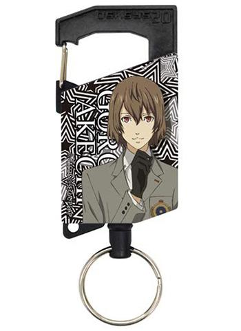 Persona 5 Goro Akechi - Cospa Retractable Key Chain