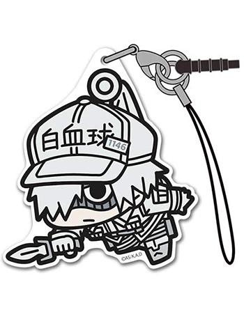 Cells at Work! White Blood Cell (Neutrophils) - Character Acrylic Mascot Strap