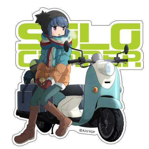 Yuru Camp Rin Shima - Character Waterproof Decal Sticker