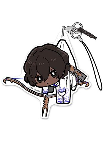 Fate/Extella Link Archer Arjuna Tsumamare Pinch Character Acrylic Mascot Strap