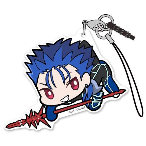 Fate/Extella Link Lancer Cu Chulainn Tsumamare Pinch Character Acrylic Mascot Strap