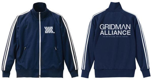 Gridman Alliance - Cospa Character Navy Jersey Hoodie