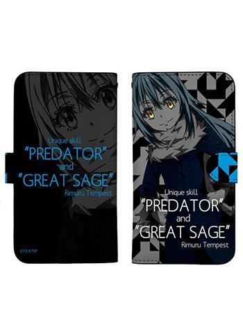 That Time I Got Reincarnated as a Slime, Rimuru Tempest Book Type Smart Phone Pouch for iPhone
