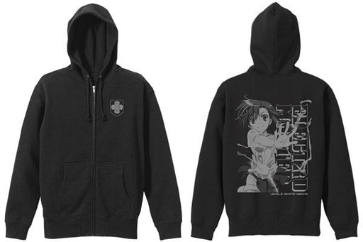 A Certain Magical Index III Mikoto Misaka - Cospa Black Parka Hoodie Size XL