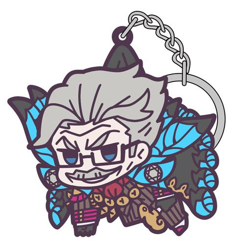 Fate Grand Order Shinjuku Archer James Moriarty - Cospa Character Rubber Pinch Tsumamare Key Chain Mascot FGO