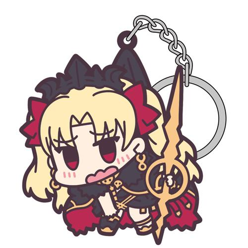 Fate Grand Order Lancer Ereshkigal - Cospa Character Rubber Pinch Tsumamare Key Chain Mascot FGO