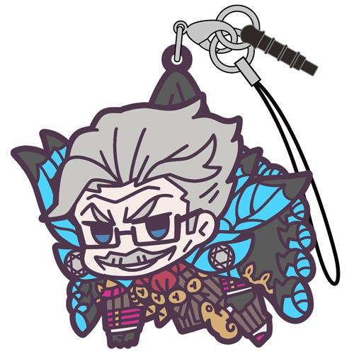 Fate Grand Order Shinjuku Archer James Moriarty - Cospa Character Rubber Pinch Tsumamare Strap Mascot FGO