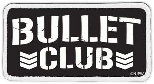 New Japan Pro-Wrestling - Bullet Club - Cospa Removable Velcro Patch Wappen