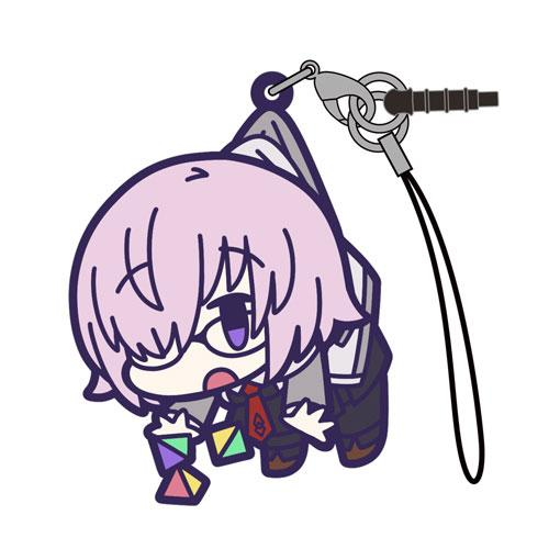 Fate Grand Order - Shielder Mash Kyrielight Casual V. - Cospa Pinch Tsumamare Rubber Strap Mascot