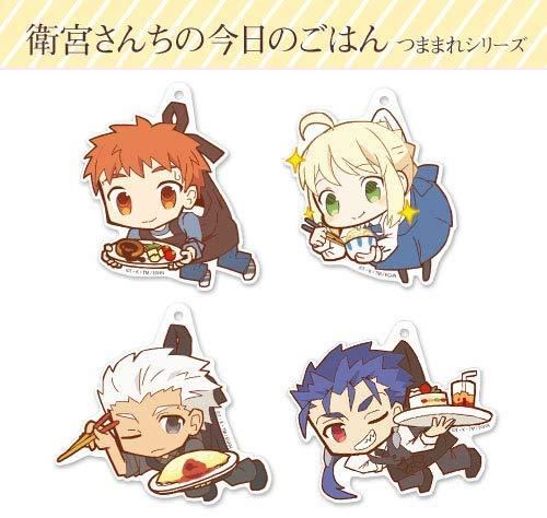 Today`s Menu for Emiya Family - Lancer Cu Chulainn - Tsumamare Cospa Pinch Acrylic Strap