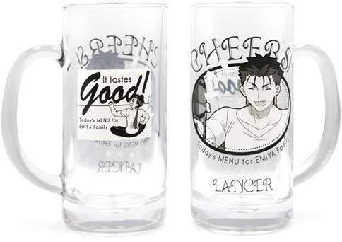 Today`s Menu for Emiya Family - Lancer Cheers! - Cospa Full Color Character Beer Glass