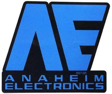 Mobile Suit Z Gundam - Anaheim Electronics - Character Waterproof Decal Sticker