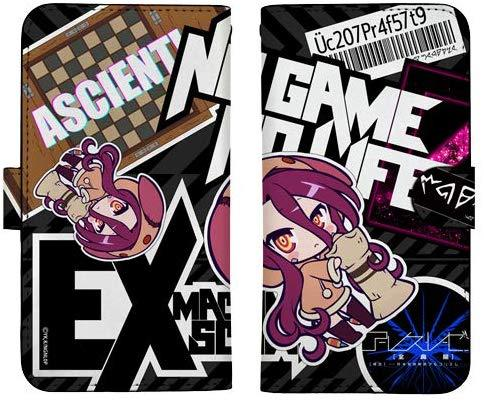 No Game No Life - Schwi - Notebook Type Character Smart Phone Pouch for iPhone V.2