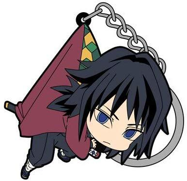Demon Slayer: Kimetsu no Yaiba - Giyu Tomioka - COSPA Character Rubber Pinch Tsumamare Key Chain Mascot