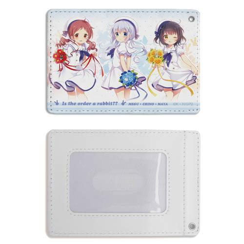 GochiUsa Is the Order a Rabbit?? - Chimame-tai - Character Full Color Retractable Pass Case Cospa