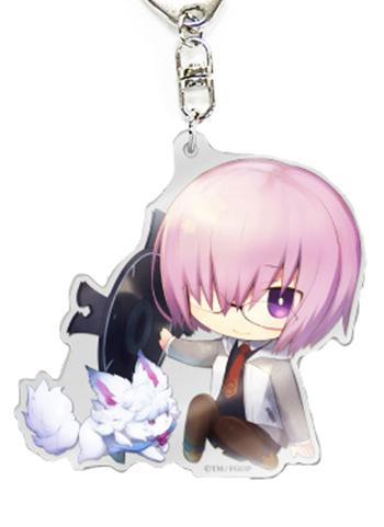 Fate Grand Order FGO Fes CharaToria Shielder Mash Kyrielight - Exclusive Acrylic Key Chain