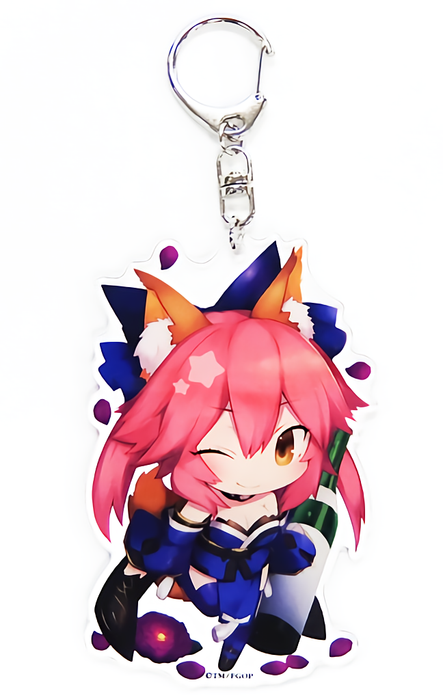 Fate Grand Order FGO Fes CharaToria Caster Tamamo no Mae - Exclusive Acrylic Key Chain