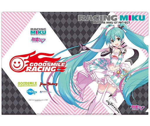 Vocaloid Hatsune Miku Racing 2019 Character Key Visual A4 Clear File Vol.1
