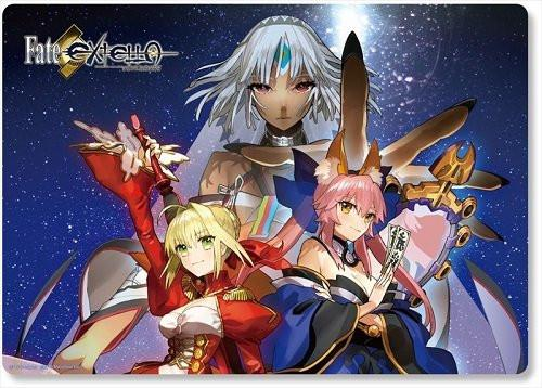 Fate/Extella Extra - Nero Claudius (Red Saber) & Caster Tamamo Altera - Desk Play Mat - V.3 FGO