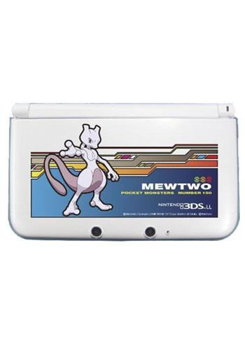 Pokemon - Mewtwo 3DS XL / 3DS LL Hard Cover Faceplate Protector Skin for Nintendo