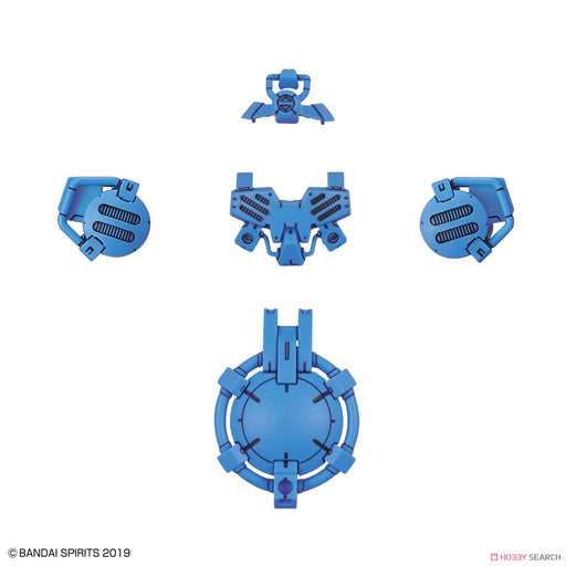 30 Minute Missions - Special Forces Option Armor for Portanova Light Blue - Bandai Model Kit